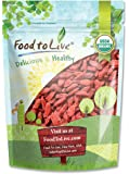 Organic Goji Berries (Kosher) by Food to Live — 1.5 pounds