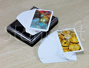 StonKraft Plastic Bridge Playing Cards (Set of 2) Flash Cards Party Games Fun Games