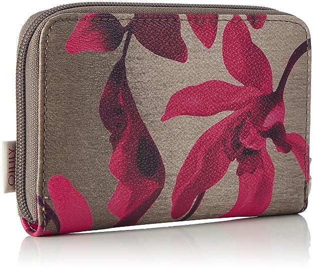 Jolly Purse Sh4z, Womens Wallet, Rot (Dark Red), 1x10x16 cm (B x H T) Oilily