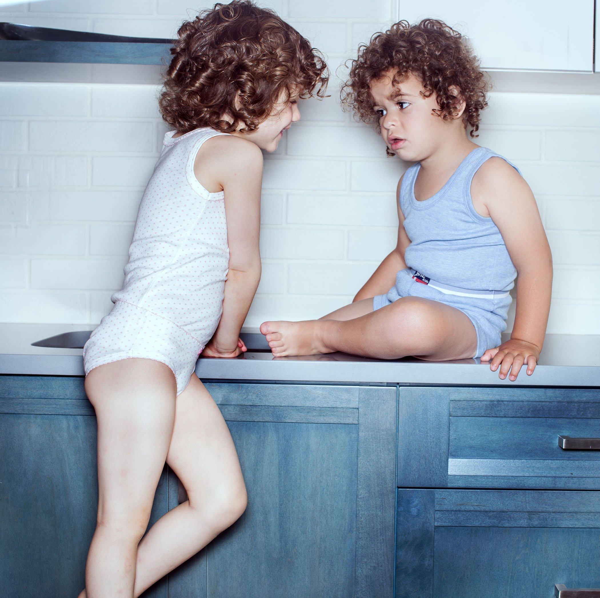 Amoureux Bebe Girls Cami Undershirts- Tagless Cotton Tank Tops-Pink/White, 3 Pk (8-9 Yrs) by Amoureux Bebe (Image #3)