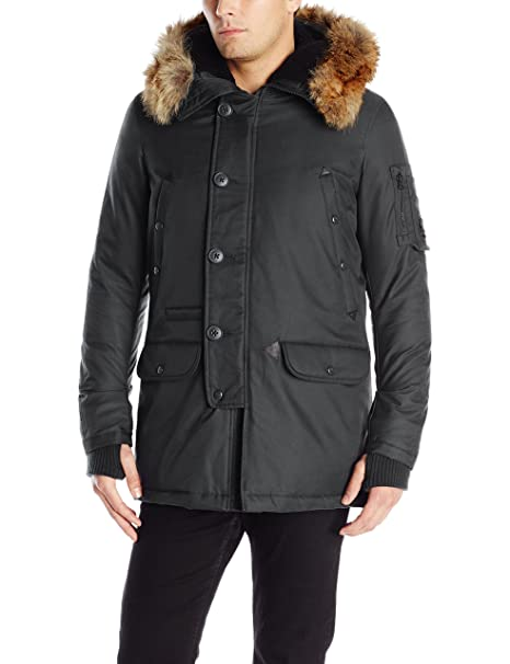 b686cb253d7 Spiewak Men s Waterproof N3-B Snorkel Parka with Fur Trimmed Hood   Amazon.ca  Clothing   Accessories