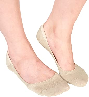 a5666708e05e6 Women's No Show Socks 3 - 6 Pairs Thin Casual Low Cut Liner Anti-Bacterial  Copper