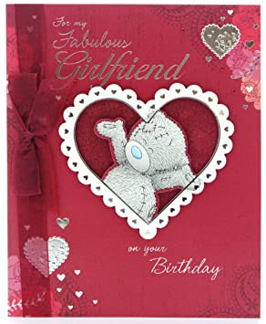 Me to you tatty teddy hand made greetings card girlfriend birthday me to you tatty teddy hand made greetings card girlfriend birthday m4hsunfo