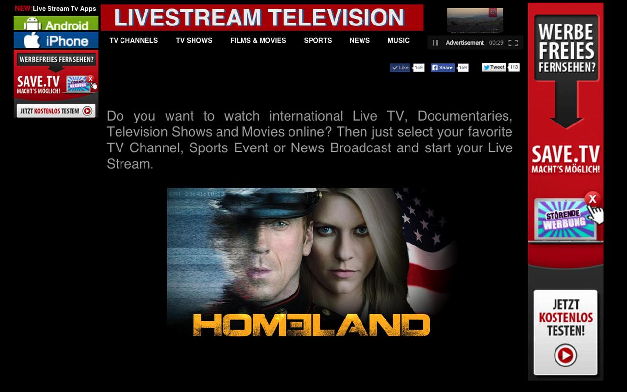 Live Streamtv
