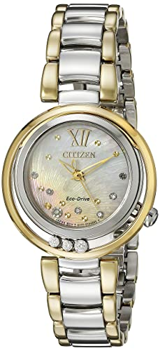 Citizen Women's EM0324-58D Citizen L Sunrise Diamond-Accented Two-Tone Stainless Steel Watch