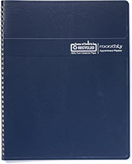 product image for House of Doolittle 2020 Calendar Planner, Monthly, Blue Cover, 8.5 x 11 Inches, December - January (HOD26207-20)