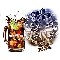 SHAWPRINT Capitán Morgan evrybody Loves un Pirata Retro