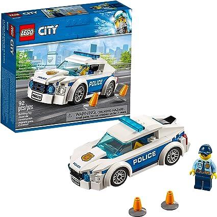 Amazon Com Lego City Police Patrol Car 60239 Building Kit 92 Pieces Toys Games