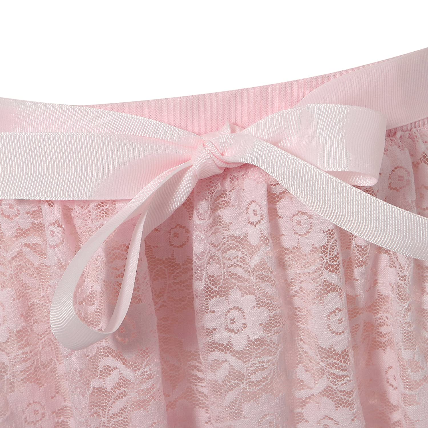 Richie House Little Girls Sweet Skirts with Mesh Covered Rh1550