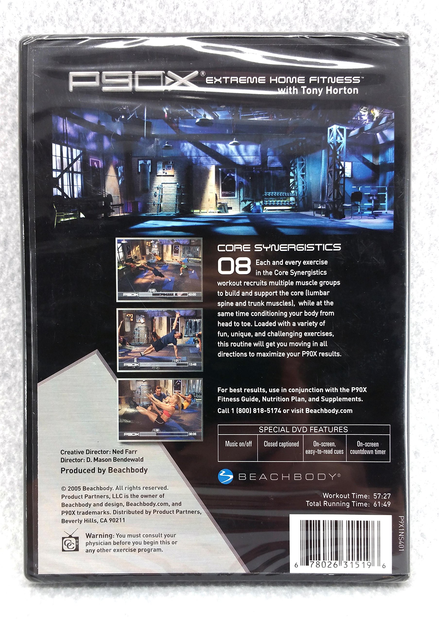 P90X Extreme Home Fitness, Vol  08:Core Synergistics