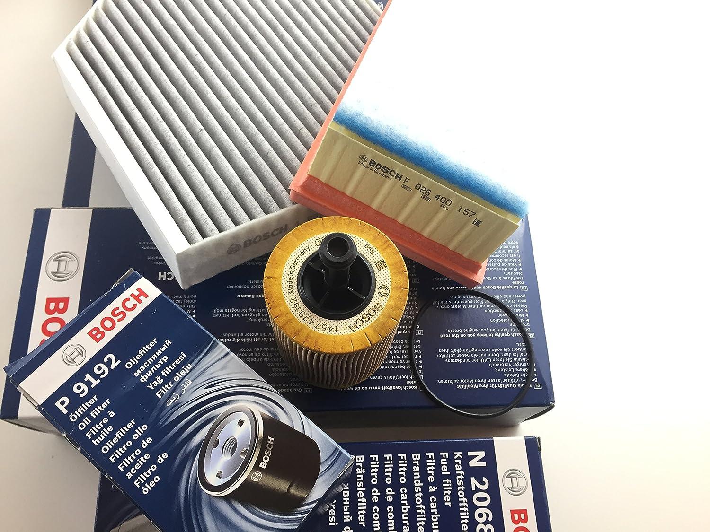 Bosch Ölfilter Luftfilter Aktivkohlefilter A4 B8 A5 8t Q5 8r 2 0 Tdi Motorcode Cahb Caga Cagb Cagc Auto