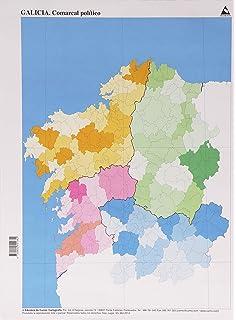 Mapa fsico Asturias Mapas mudos 50 unidades Amazones