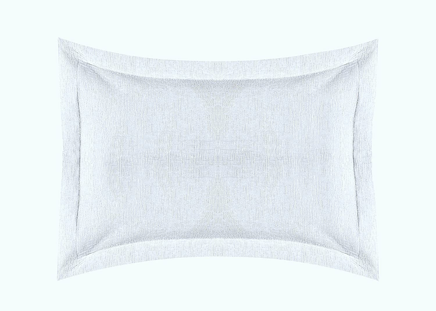 Europa Fine Linens Ikat Matelasse Bedding, Coverlet Twin Size 63-Inch by 88-Inch, White 006305