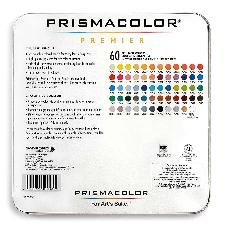 Amazon prismacolor premier colored pencils soft core 60 pack nvjuhfo Choice Image