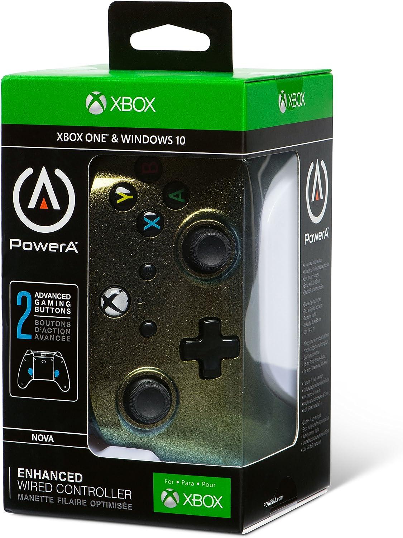 Mando Con Cable Mejorado Estrella Nueva (Xbox One): Amazon.es: Videojuegos