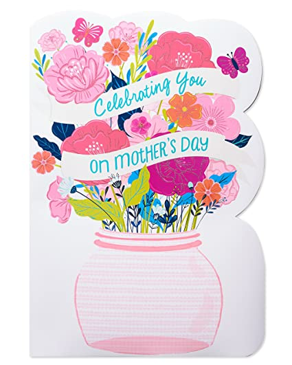 Amazon Com American Greetings Celebrating You Mother S Day Card
