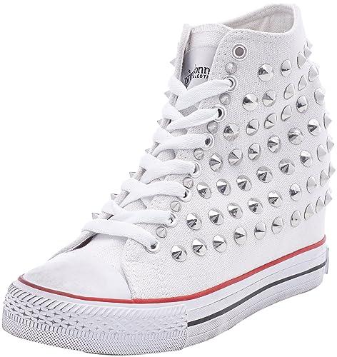 Primadonna Sneakers, Zapatillas Altas para Mujer, Blanco (BIAN 112618397CABIAN), 37 EU: Amazon.es: Zapatos y complementos