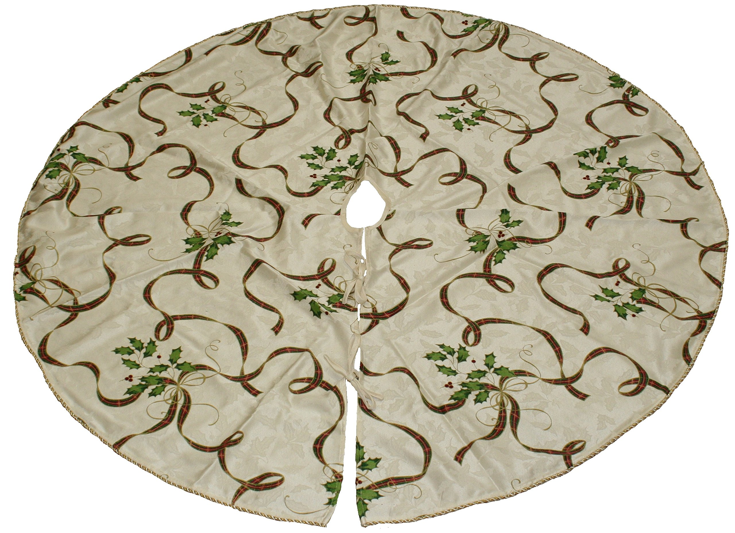 Lenox Holiday Nouveau Ribbon Tree Skirt 60'' by Lenox