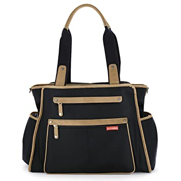 Buy Skip Hop Grand Central Diaper Bag Black Online at Low Prices in India -  Amazon.in