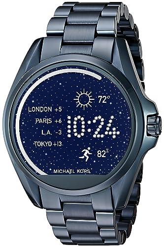 Michael Kors Access Bradshaw Navy-Tone Smartwatch Wearable MKT5006 ... dd327e78f7