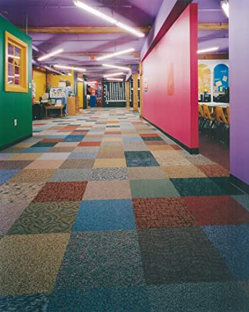 Harlock Assorted 24 x 24 T3 Ecoflex ICT Back Carpet Tile