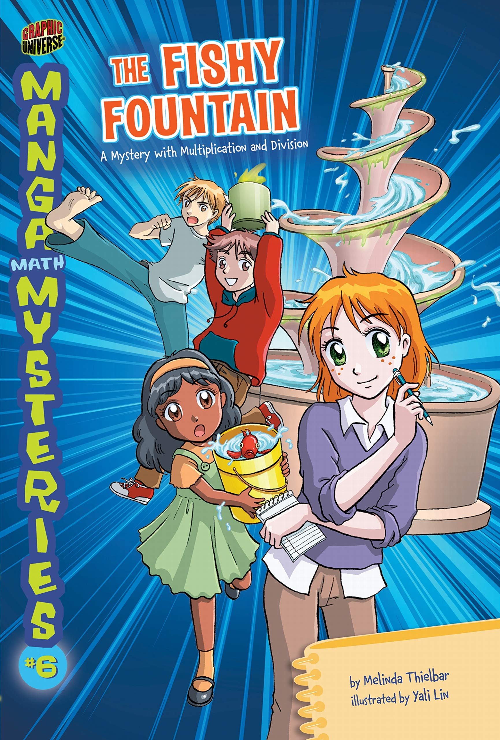 Amazon.com: The Fishy Fountain: A Mystery with Multiplication and ...