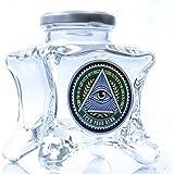 Dope Jars - One of a Kind Herb StorageFits About 3/4 Ounce Depending on Nug Density (Eye)