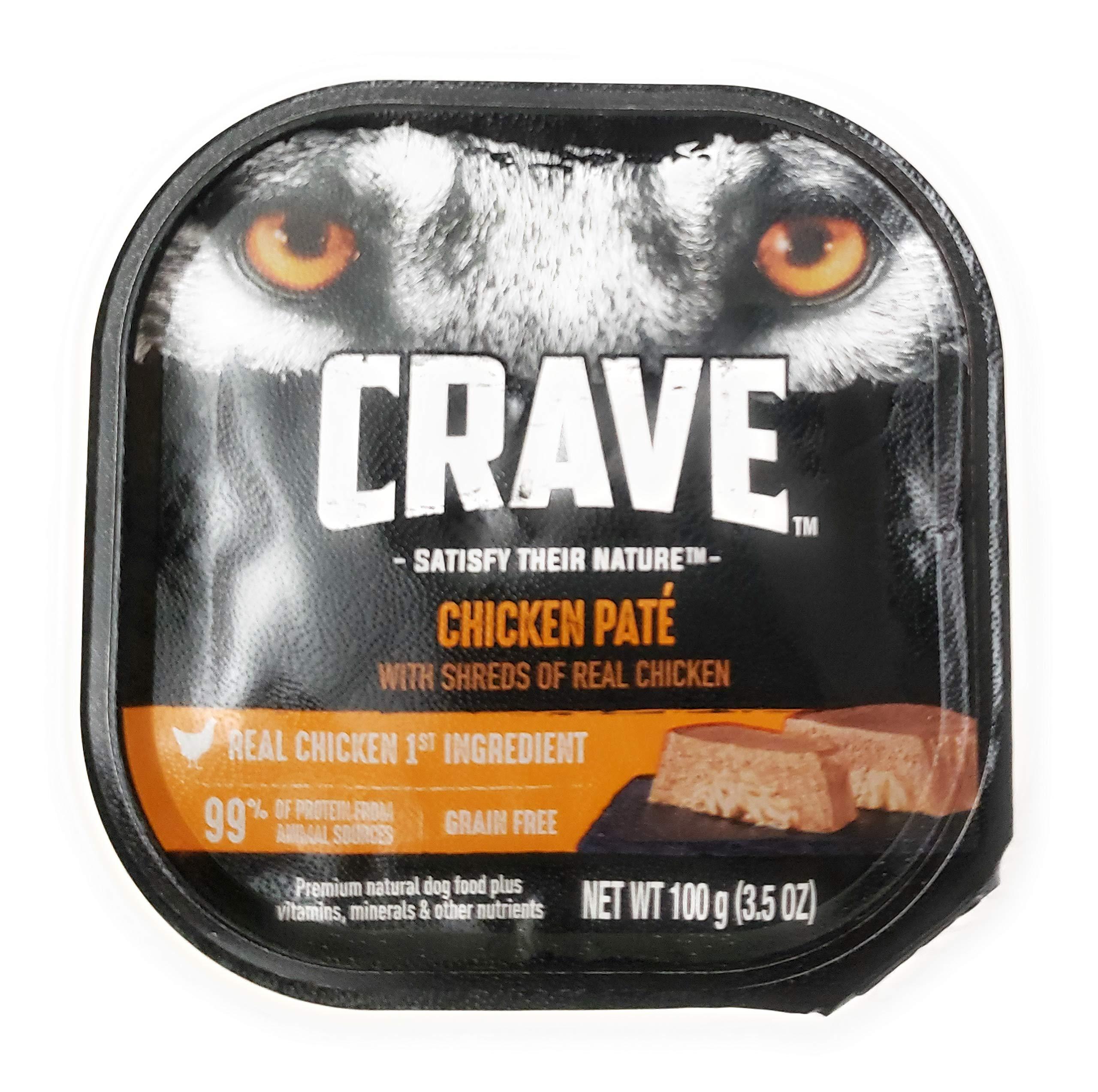 Crave Chicken Pate Wet Food 3.5 oz
