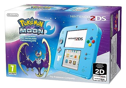 215 opinioni per Nintendo 2DS Special Edition + Pokémon Luna Preinstallato- Limited