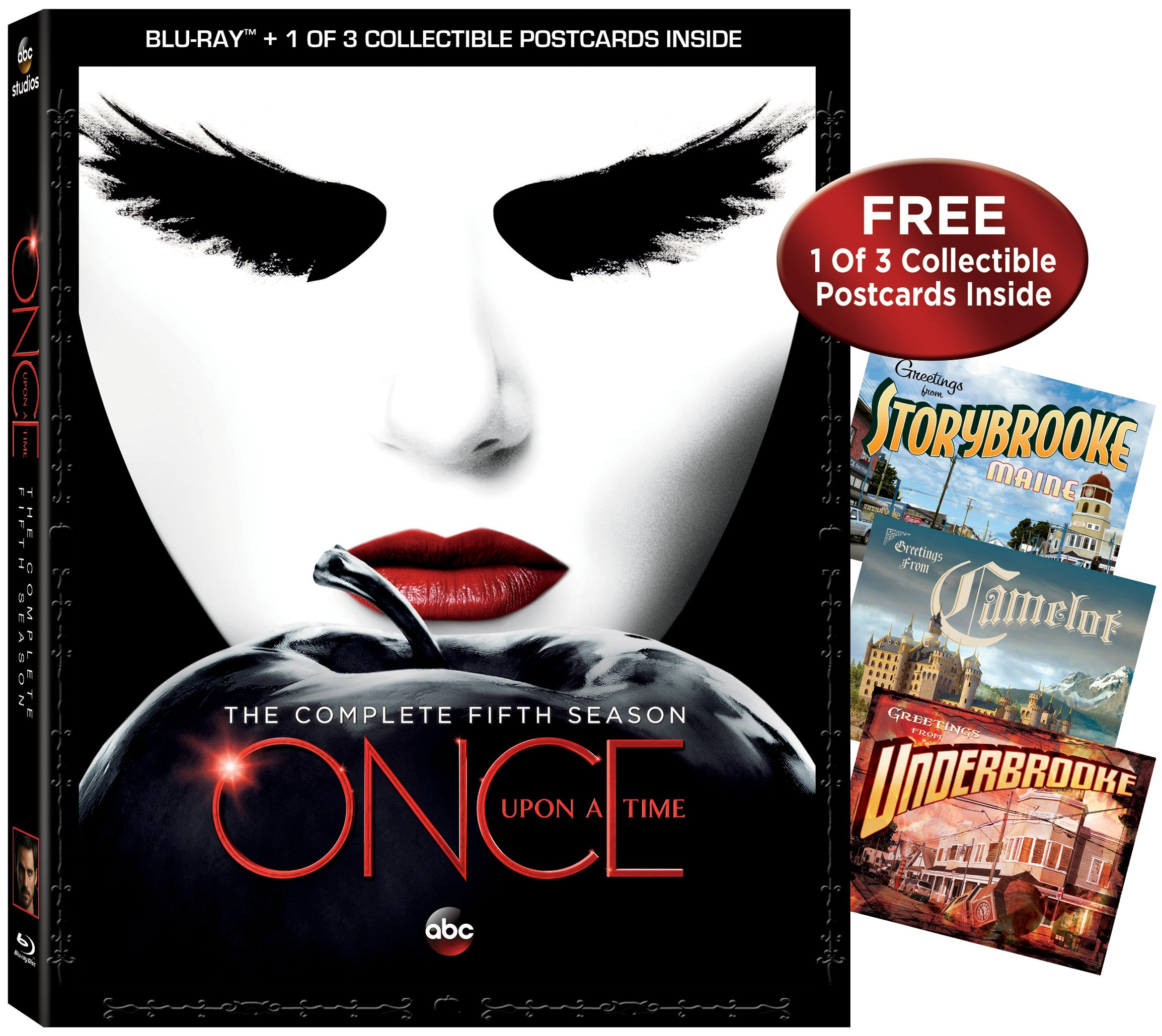 Once Upon A Time: Season 5 [Blu-ray] by Walt Disney Studios