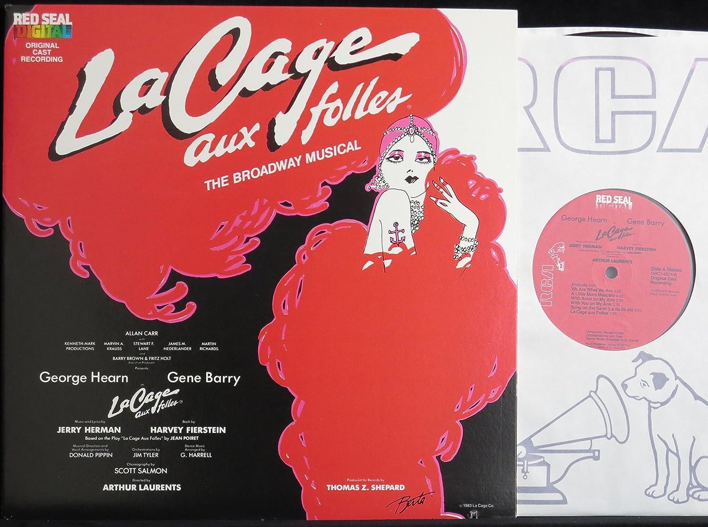 - La Cage aux Folles - The Broadway Musical [Original Cast] (USA 1st  pressing vinyl LP) - Amazon.com Music