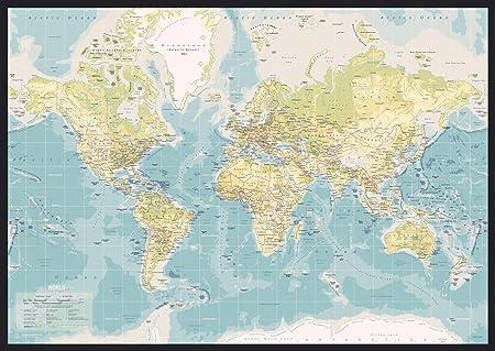 Incado map design 1 piece pin board world map vintage colour incado map design 1 piece pin board world map vintage colour publicscrutiny Choice Image