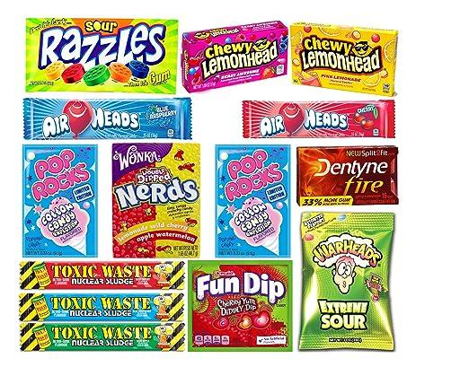 PURPLEGIANTS© Toxic Waste Amerikanische Süßigkeiten Bundle (Toxic ...