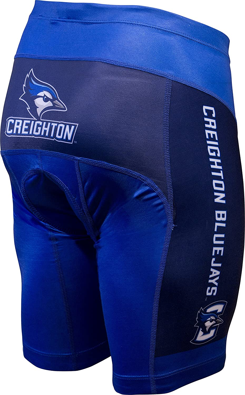 NCAA Creighton Bluejays Men/'s Cycling Shorts