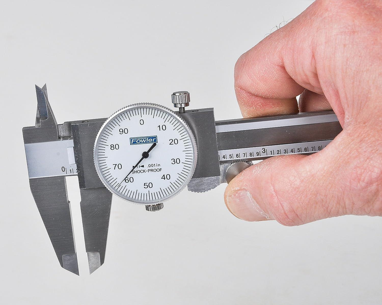 Fowler 72-008-007 Dial Caliper 0-6 In. 72008007