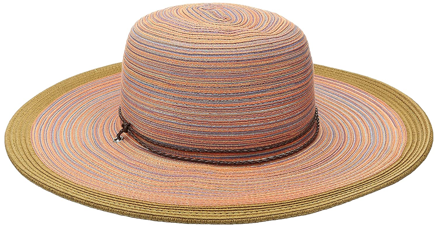 23e22a22 San Diego Hat Company Women's 4-inch Mixed Braid Sun Brim Hat with Adjustable  Chin Cord, Teal, One Size at Amazon Women's Clothing store: