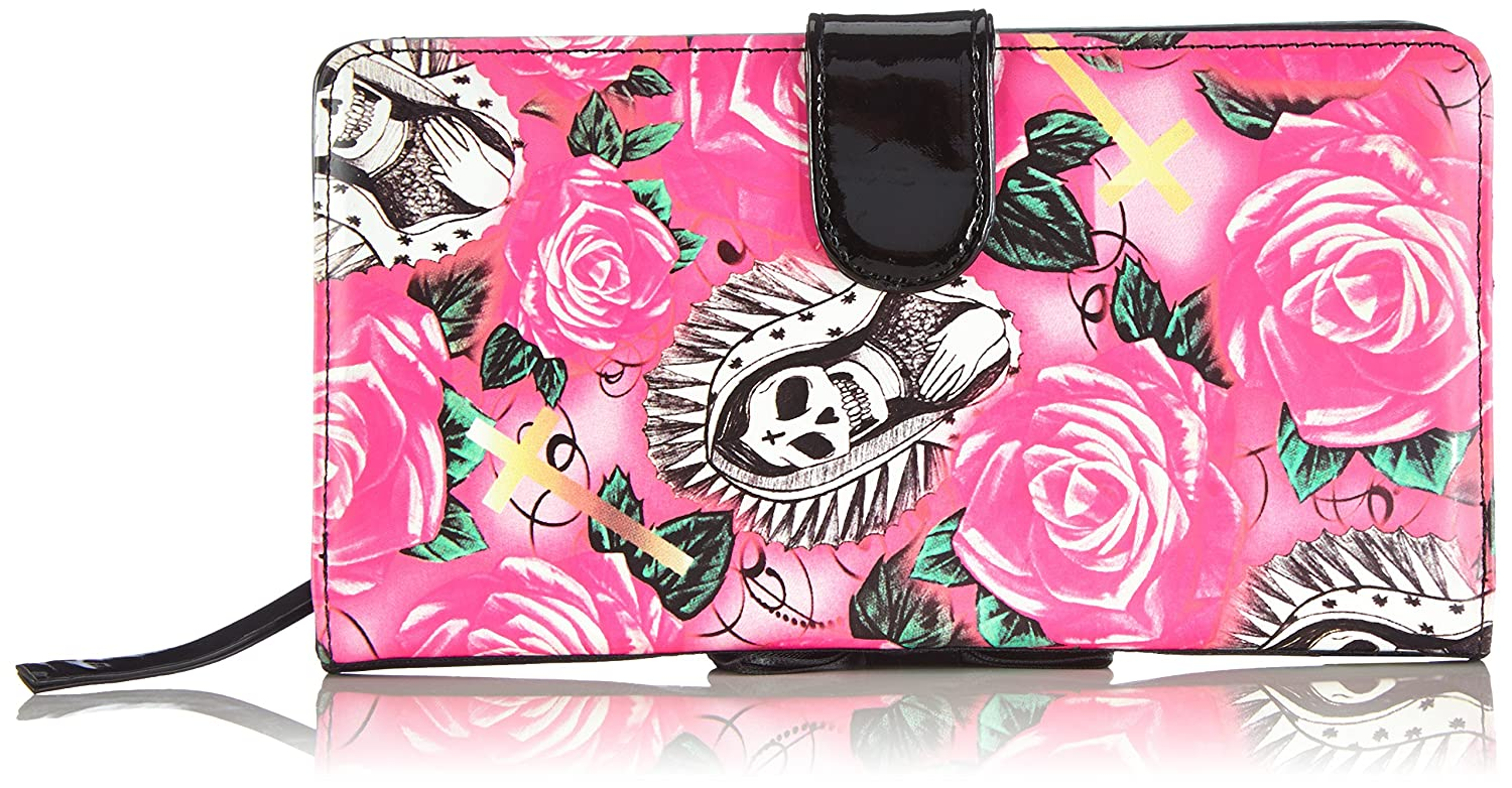 Iron Fist Beautiful Sinner Wallet, Cartera para Mujer, Pink ...