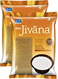 Jivana Classic Sugar, 5 kg (Pack of 2)