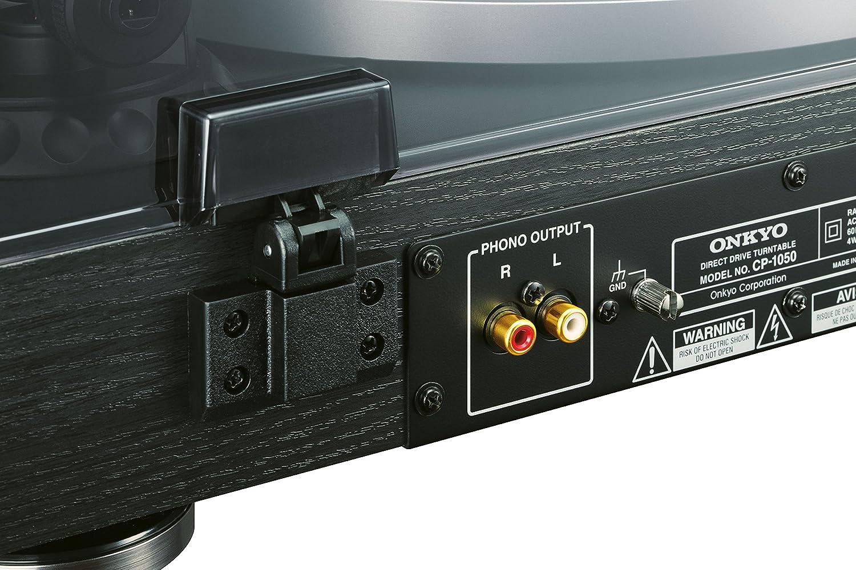 Onkyo CP-1050-D - Giradiscos, color negro: Amazon.es: Electrónica
