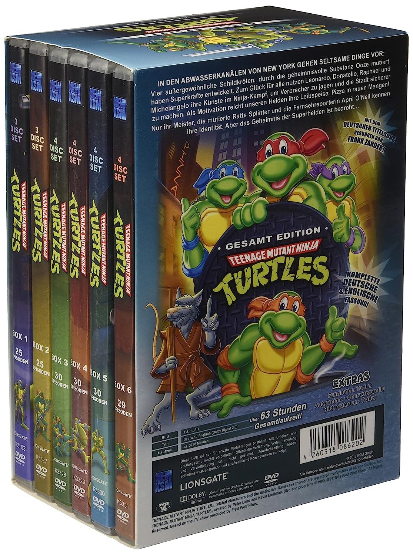 Teenage Mutant Ninja Turtles Limited Edition Gesamt Edition ...