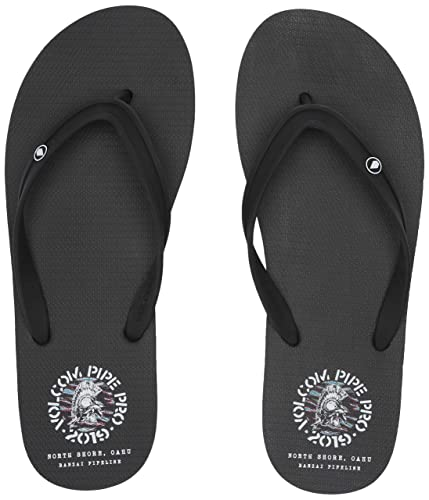 ba2885b6ac79bc Amazon.com  Volcom Men s Rocker 2 Graphic Print Flip Flop Sandal  Shoes