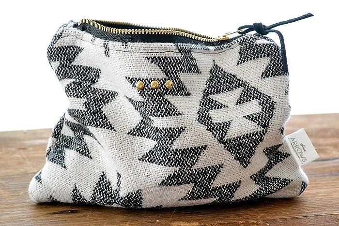 653eac2c4c4a Amazon.com: Zipper Pouch | Southwest Aztec | Toiletry Bag | Cosmetic ...