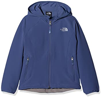 a4f45cef90 The North Face Exploration Softshell Veste, Filles XS Bleu (Bleu Fjord  côtier)