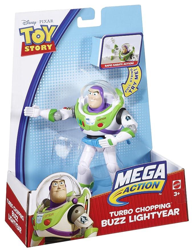 Amazon.com: Disney / Pixar Toy Story Mega Action Turbo Chopping Buzz Lightyear: Toys & Games