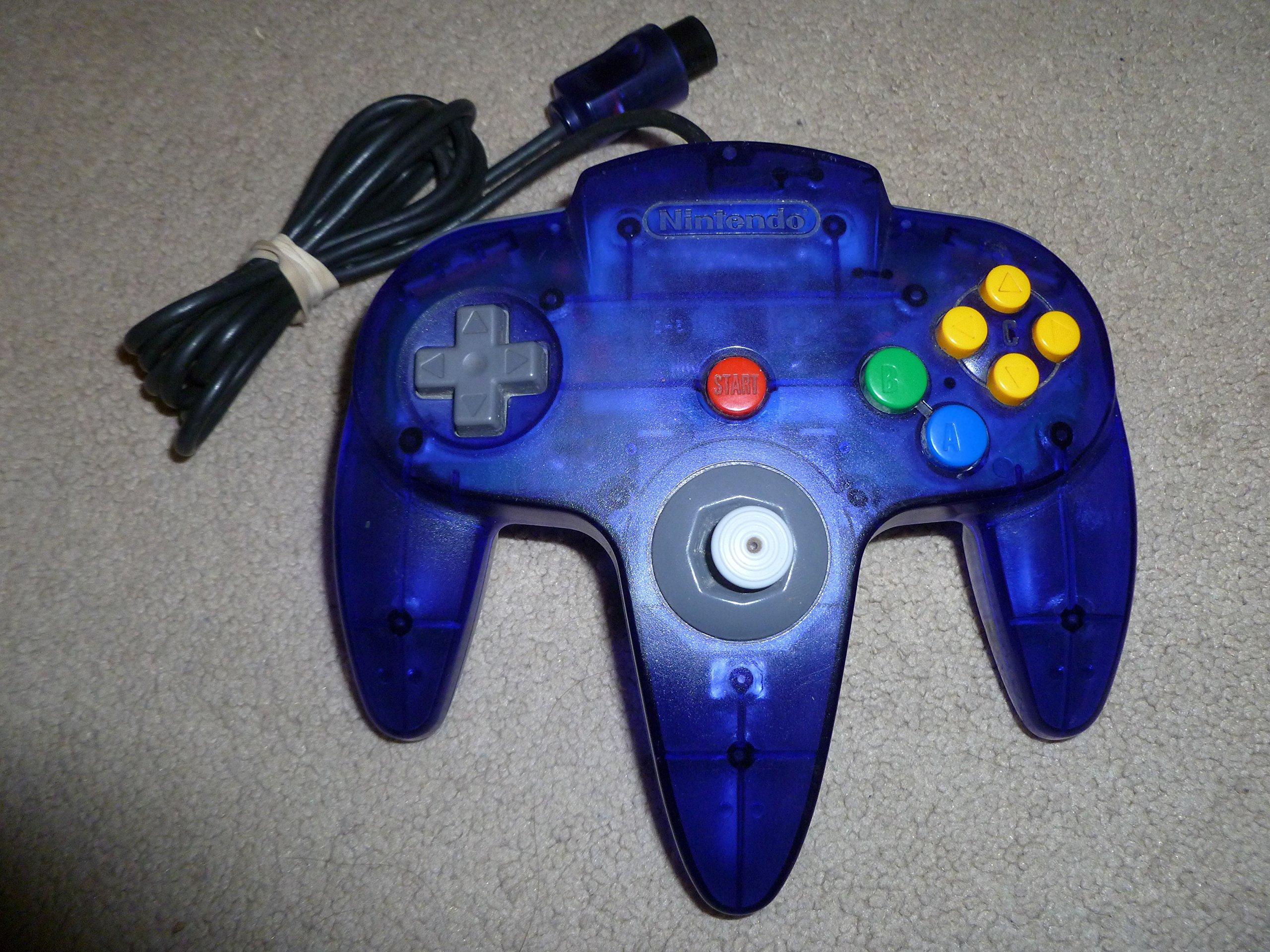 amazon com nintendo 64 controller grape video gamesNintendo 64 Controller Layout N64 Atomic Purple Controller Nintendo 64 #10