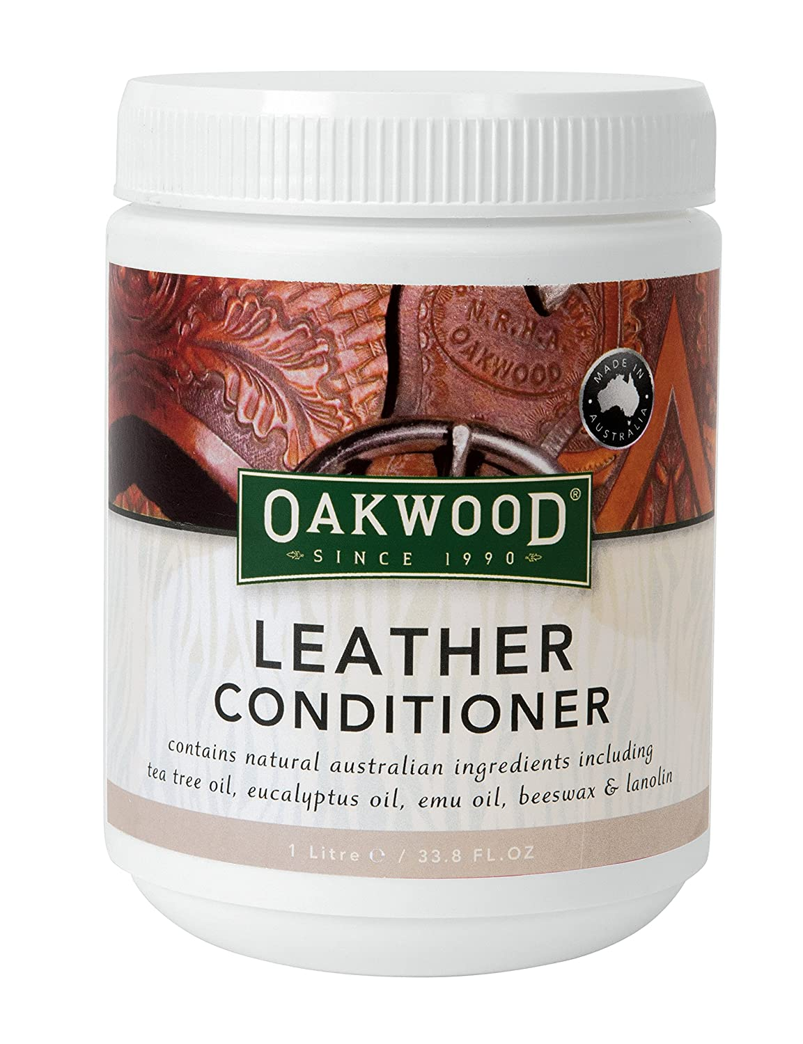 Oakwood Leather Conditioner, Neutral, 16.9 oz