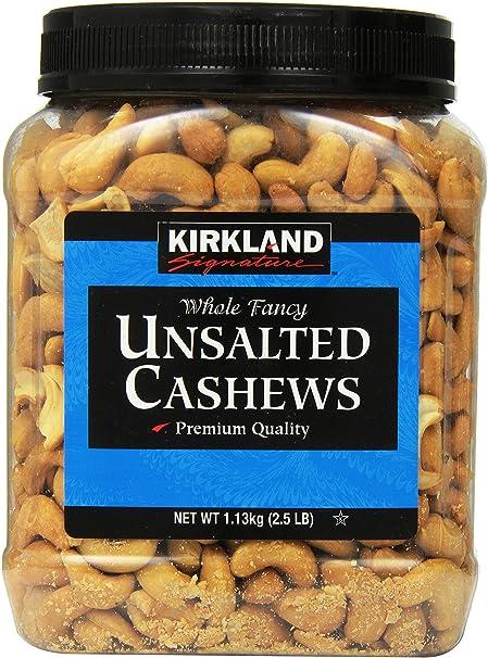 KIRKLAND(カークランド) カシューナッツ(無塩)1.13kg [並行輸入商品]