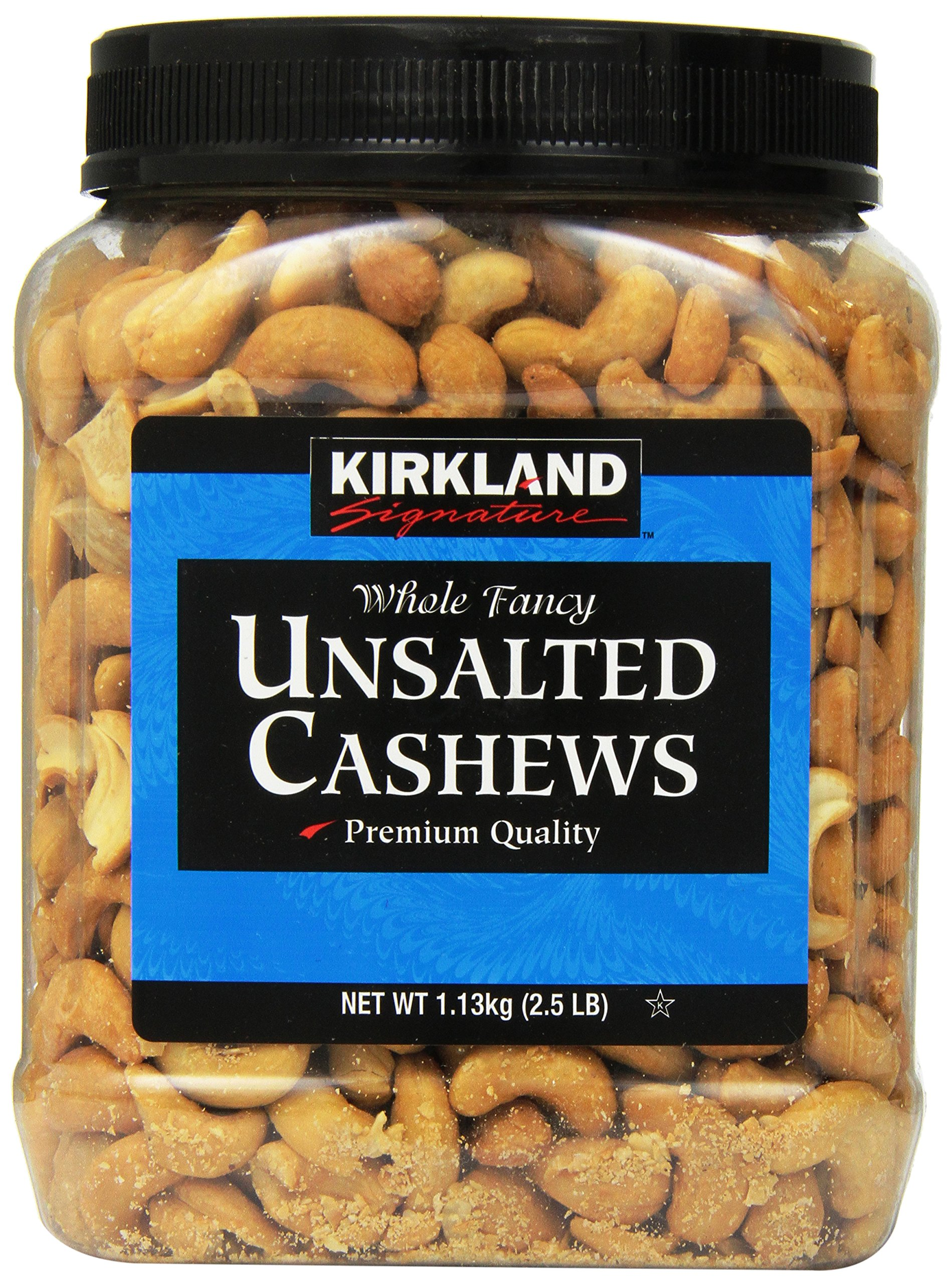Kirkland Signature Unsalted Cashews