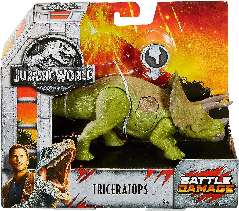 FNB38 Multicolore Jurassic World Coffret Blessures De Combat-Triceratops