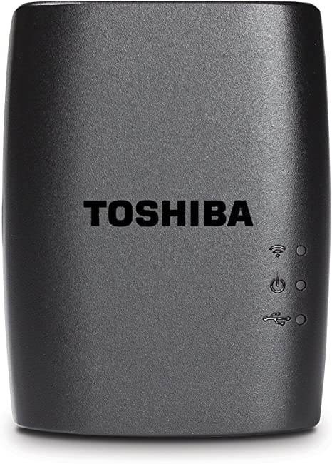 Toshiba STOR.E Wireless - Adaptador inalámbrico para Disco Duro ...